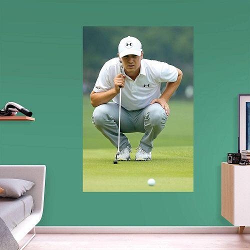 38339121da93db Jordan Spieth on the Green Wall Decal by Fathead