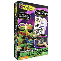 Teenage Mutant Ninja Turtles Create a Story Re-Stickable Playset by Colorforms