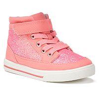 OshKosh B'gosh® Kendall 3 Toddler Girls' High-Top Sneakers