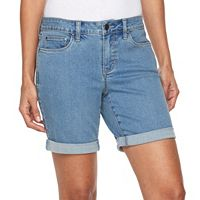 Women's Croft & Barrow® Jean Shorts