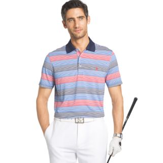 Men's IZOD Classic-Fit Striped Performance Golf Polo