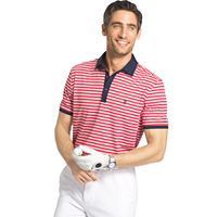 Men's IZOD Explorer Classic-Fit Striped Performance Golf Polo