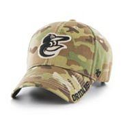 Adult '47 Brand Baltimore Orioles Frost MVP Multicam Adjustable Cap