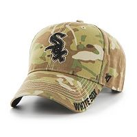 Adult '47 Brand Chicago White Sox Frost MVP Multicam Adjustable Cap