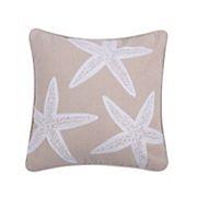 Levtex ''Starfish'' Throw Pillow