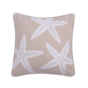 Levtex ''Starfish'' Throw Pillow