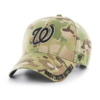 Adult '47 Brand Washington Nationals Frost MVP Multicam Adjustable Cap
