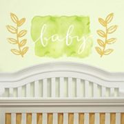 Kathy Davis 'Baby' Peel & Stick Wall Decal 3 pc Set by Roommates