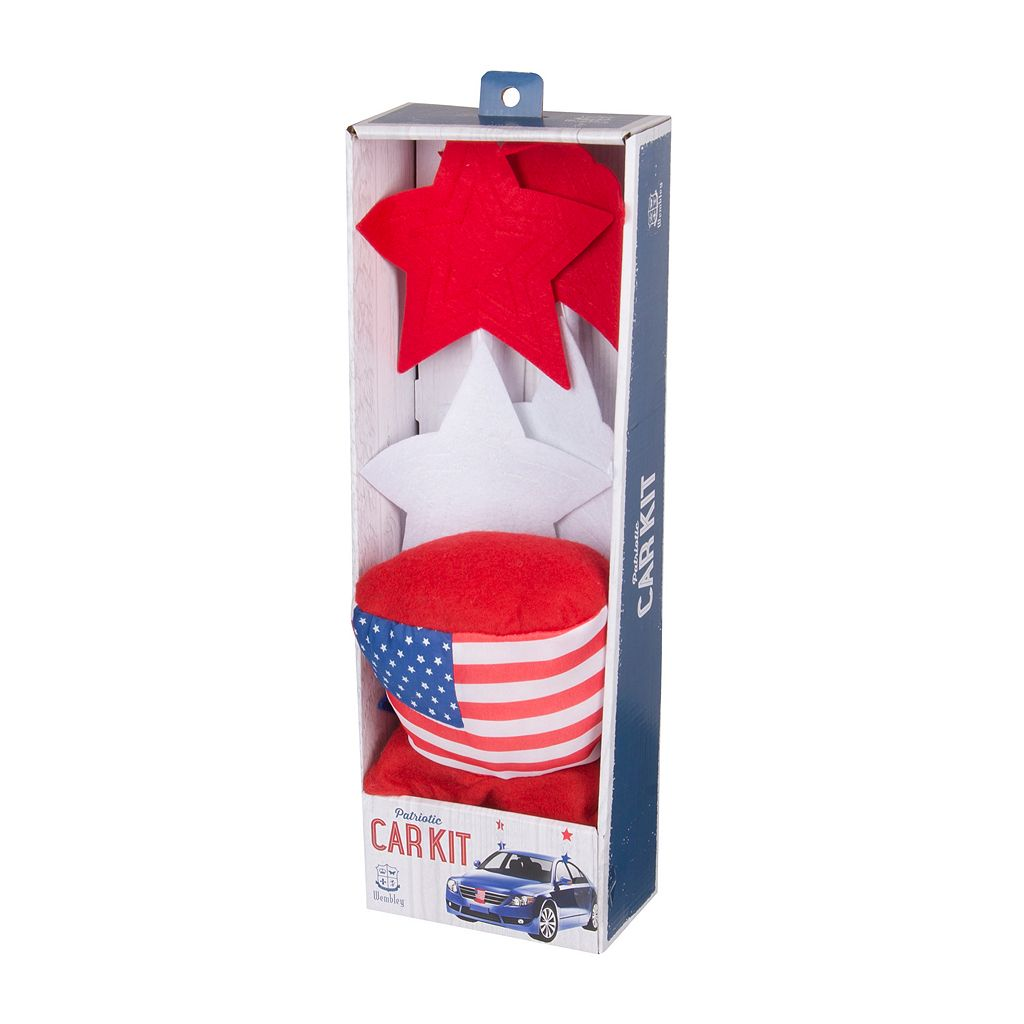 Wembley Americana Patriotic Car Kit
