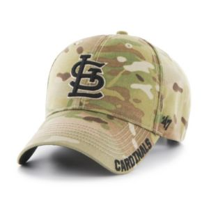 Adult '47 Brand St. Louis Cardinals Frost MVP Multicam Adjustable Cap
