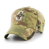 Adult '47 Brand Seattle Mariners Frost MVP Multicam Adjustable Cap