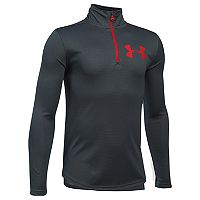 Boys 8-20 Under Armour Textured Tech Performance Quarter-Zip Pullover