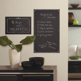 Roommates Chalkboard Peel & Stick Wall Decal 2-piece Set