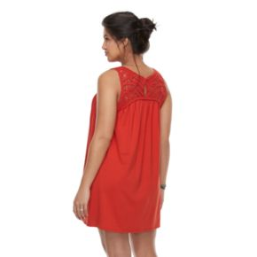 Maternity a:glow Crochet Tank Dress