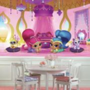 Shimmer & Shine Genie Palace Mural Wall Decal 7-piece Set by Roommates
