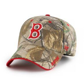 Adult '47 Brand Boston Red Sox Frost Realtree Camouflage Adjustable Cap
