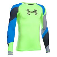 Boys 8-20 Under Armour Logo Performance Tee