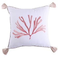 Levtex Coral Throw Pillow