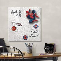 Marvel Ultimate Spider-Man Magnetic Canvas Wall Art by Roommates