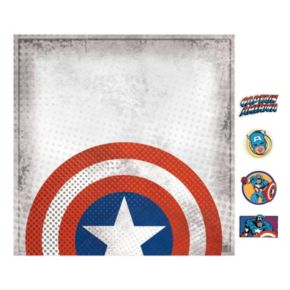 Marvel Captain America Magnetic Canvas Wall Art by Roommates