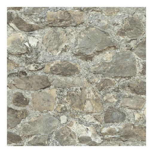 Roommates Faux Weathered Stone Peel & Stick Wallpaper Wall Decal