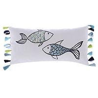 Levtex Fish Oblong Throw Pillow