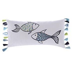 Levtex Fish Oblong Throw Pillow