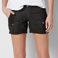 Women's SONOMA Goods for Life™ Comfort Waist Linen-Blend Shorts