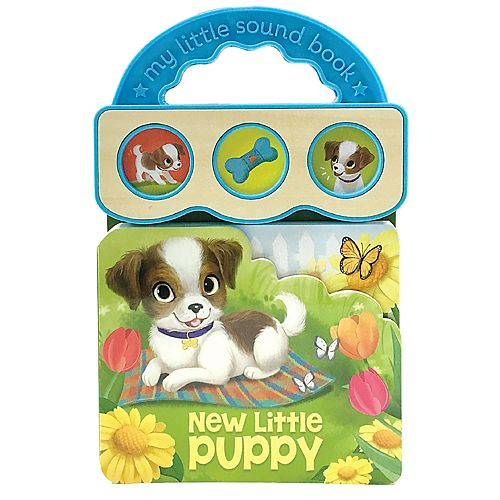 New Little Puppy 3 Button Sound Book