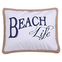 Levtex ''Beach Life'' Oblong Throw Pillow