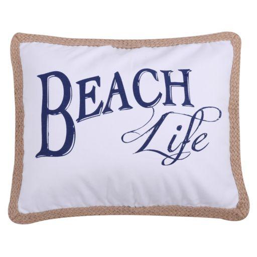 Levtex ''Beach Life'' Oblong Throw Pillow