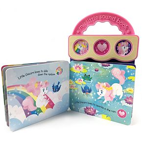 Sweet Little Unicorn 3 Button Book