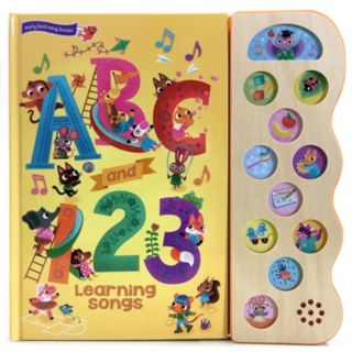 """ABC & 123 Songs"" Deluxe Song Book"
