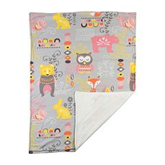 Lolli Living Enchanted Garden Stroller Blanket