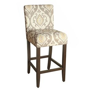 HomePop Suri Ikat Medallion Bar Stool