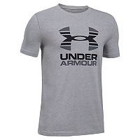 Boys 8-20 Under Armour Two-Tone Logo Tee