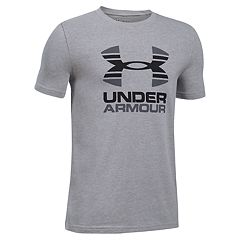 Boys 8-20 Under Armour Two-Tone Logo Tee
