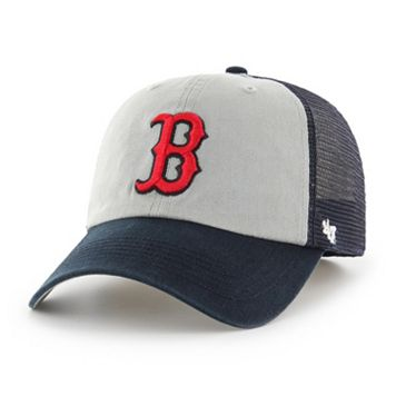 Adult '47 Brand Boston Red Sox Ravine Closer Storm Fitted Cap
