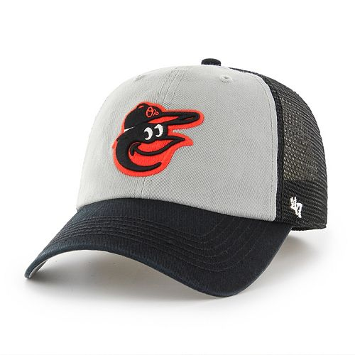 Adult '47 Brand Baltimore Orioles Ravine Closer Storm Fitted Cap