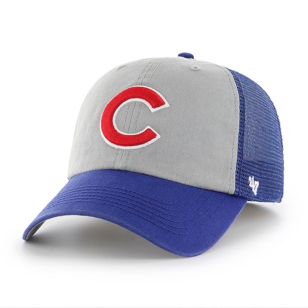 Adult '47 Brand Chicago Cubs Ravine Closer Storm Fitted Cap