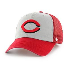 Adult '47 Brand Cincinnati Reds Ravine Closer Storm Fitted Cap
