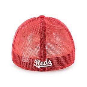 Adult '47 Brand Cincinnati Reds Ravine Closer Storm Fitted Cap