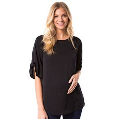 Maternity Pip & Vine by Rosie Pope Shirred Top