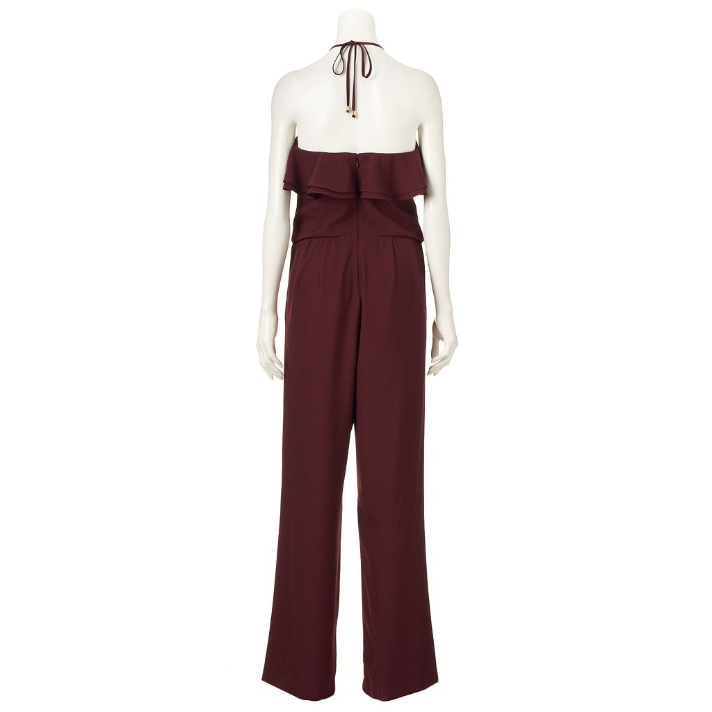 Women's Jennifer Lopez Ruffle Jumpsuit