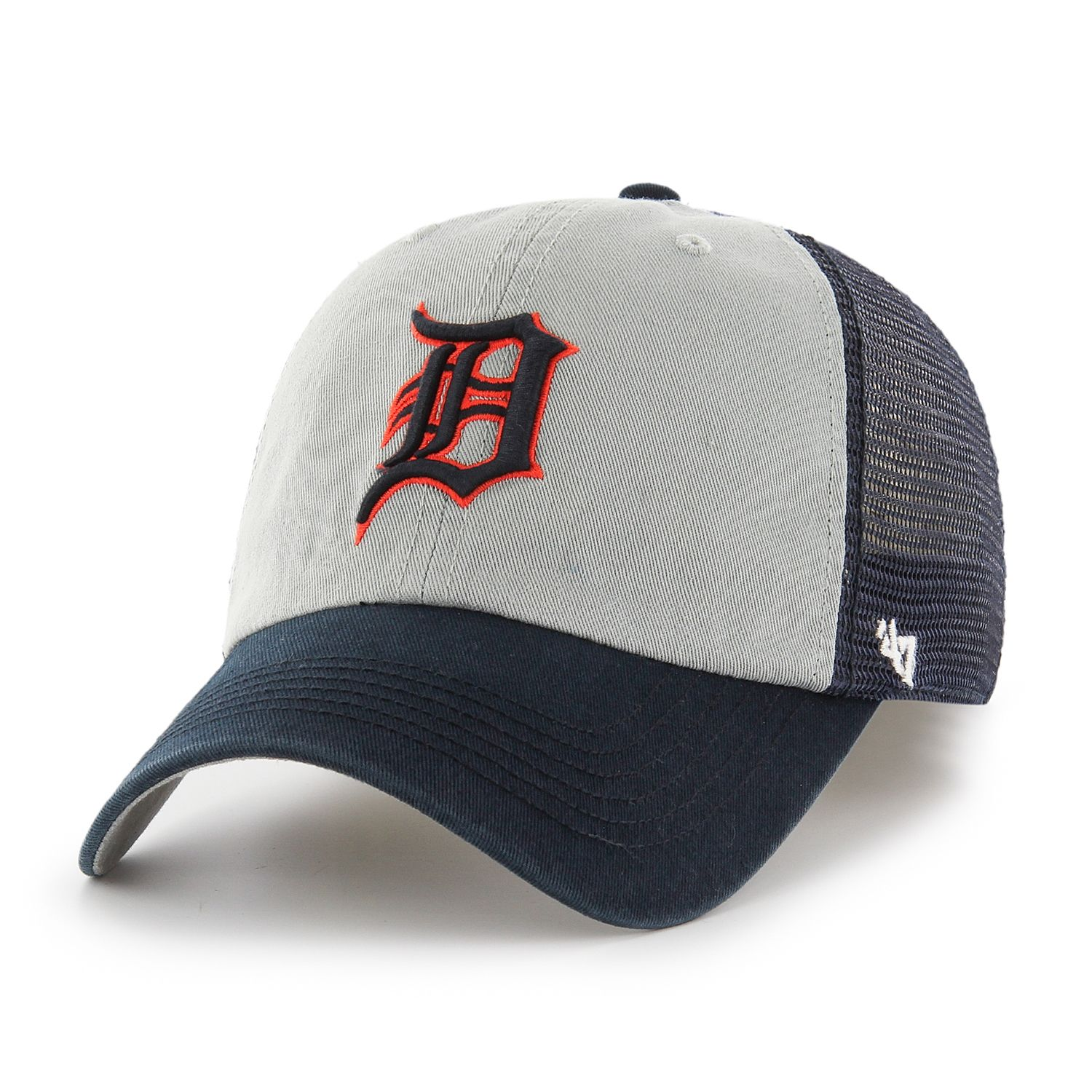 Adult U002747 Brand Detroit Tigers Ravine Closer Storm Fitted Cap