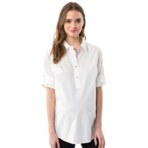 Maternity Pip & Vine by Rosie Pope Cotton Blend Top