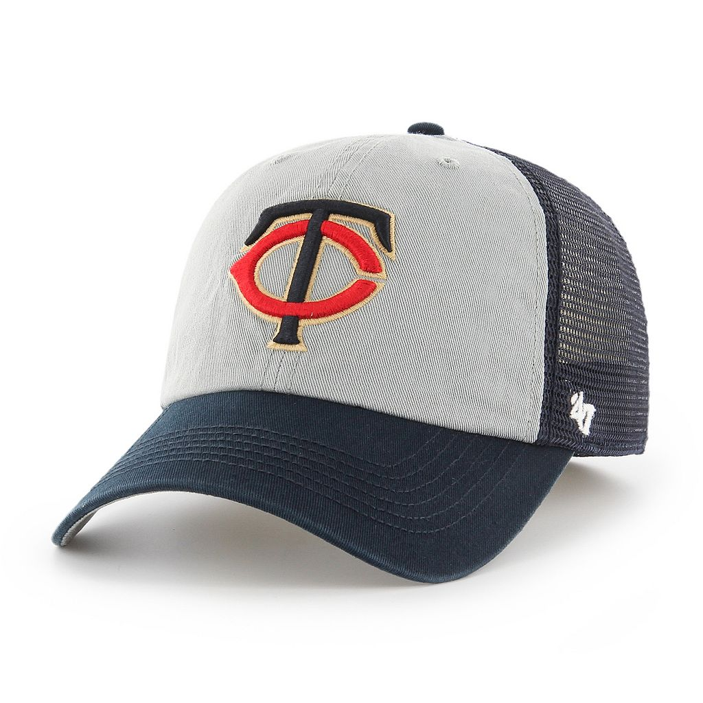 Adult '47 Brand Minnesota Twins Ravine Closer Storm Fitted Cap