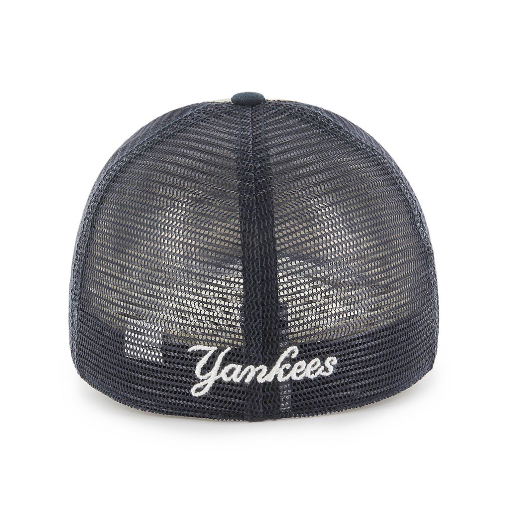 Adult '47 Brand New York Yankees Ravine Closer Storm Fitted Cap
