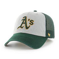 Adult '47 Brand Oakland Athletics Ravine Closer Storm Fitted Cap