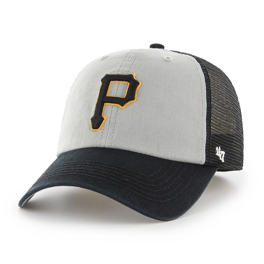 Adult '47 Brand Pittsburgh Pirates Ravine Closer Storm Fitted Cap